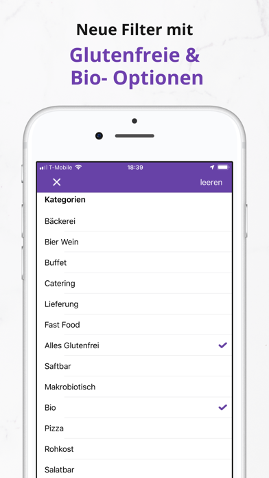 Screenshot for HappyCow Find Vegan Food in Germany App Store