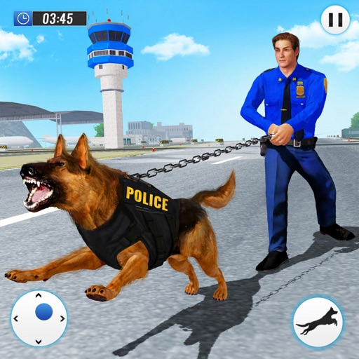 полиция собака аэропорт престу