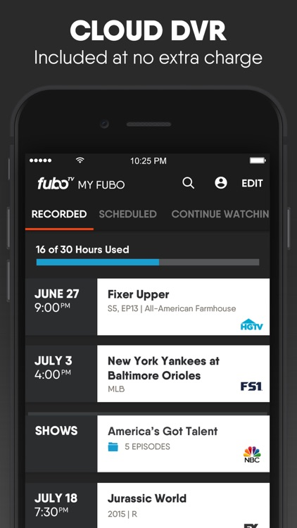 fuboTV: Watch Live Sports & TV screenshot-3