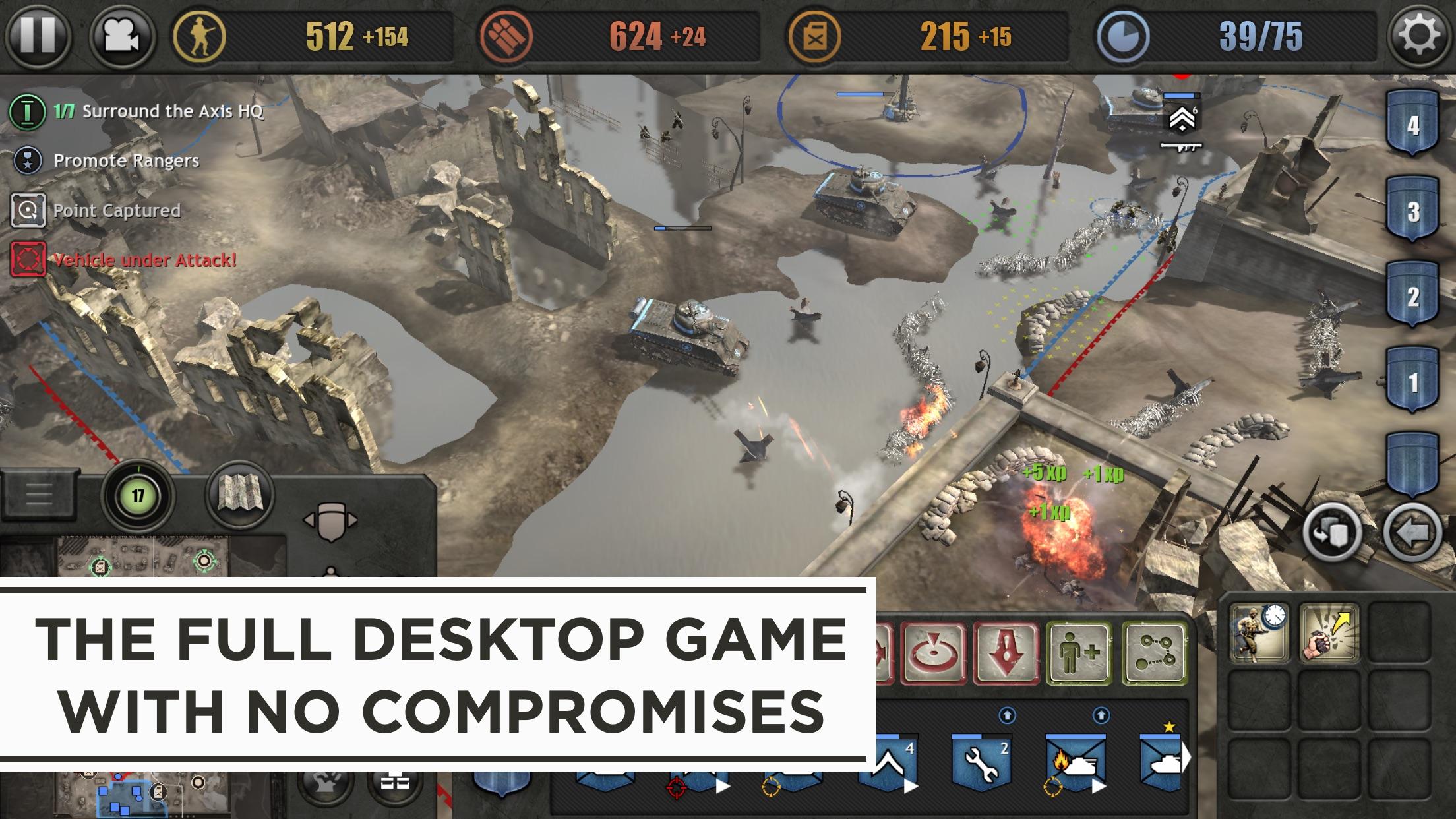 Screenshot do app Company of Heroes