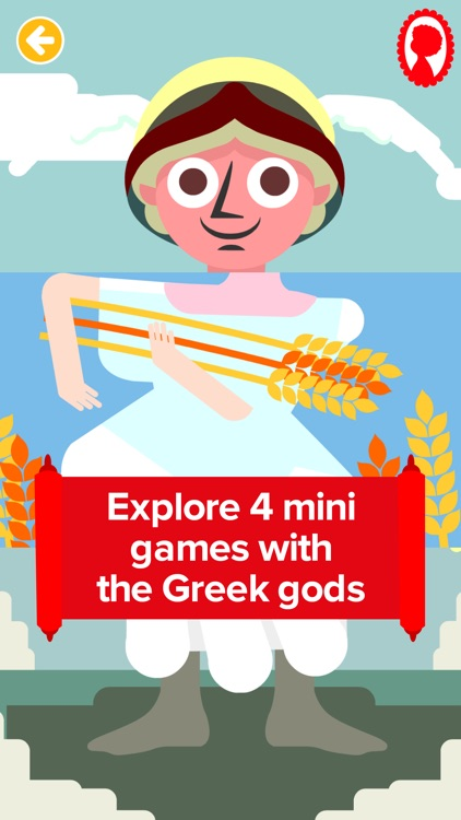 Match & Learn Greek Gods Lite screenshot-0