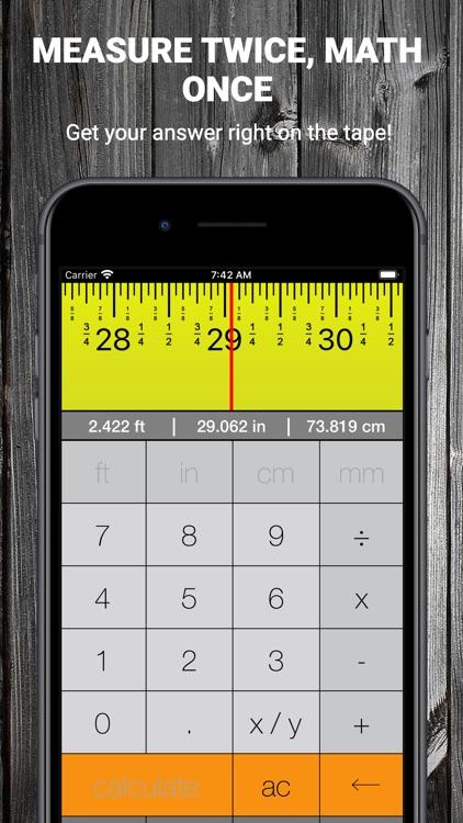 Tape Measure Calculator Pro