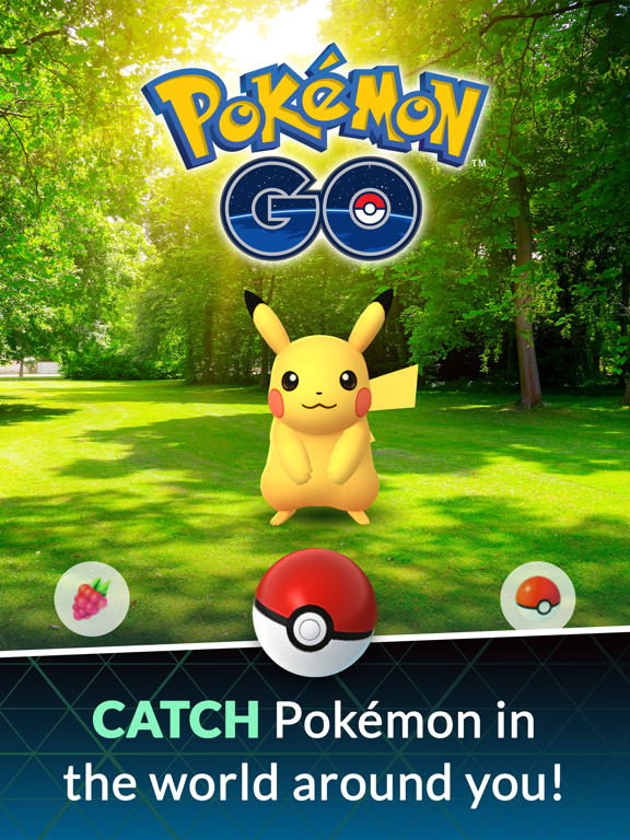 iPad Image of Pokémon GO