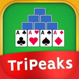 TriPeaks Solitaire Puzzle Game