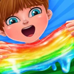 Rainbow ASMR Slime Simulator