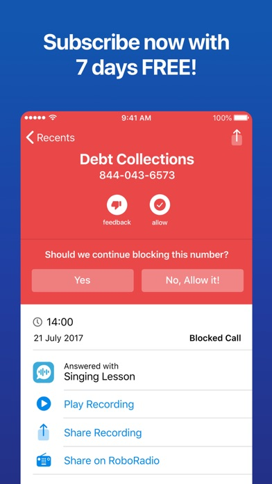 RoboKiller: Spam Call Blocker Screenshot
