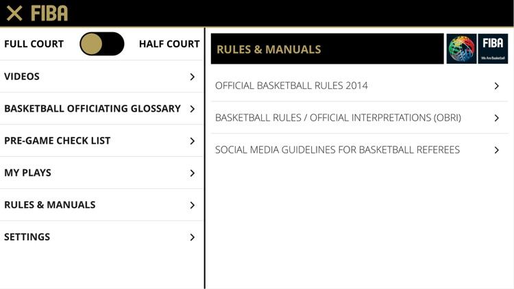 FIBA iRef Pre-Game screenshot-3