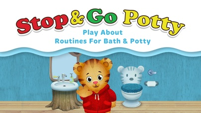 Screenshot for Daniel Tiger's Stop & Go Potty in United States App Store