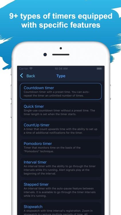 MultiTimer: Multiple timers screenshot-4