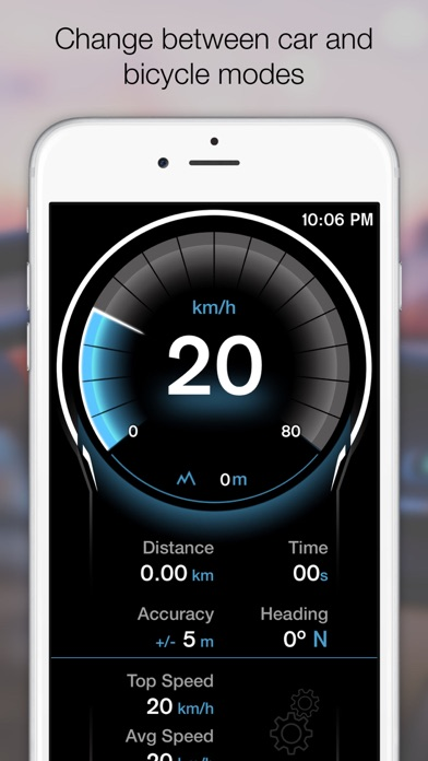 Screenshot for GPS Digital Speed Tracker Pro in Switzerland App Store