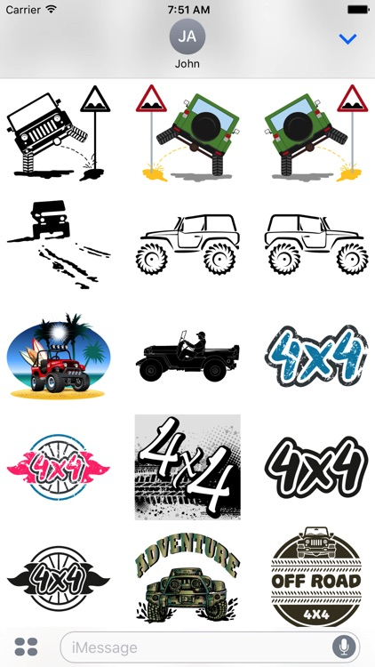 Its a Jeep Thing Sticker Pack screenshot-6