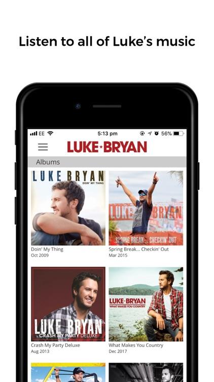 Luke Bryan screenshot-3