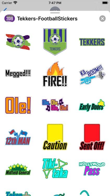 Soccer - Stickers screenshot-6