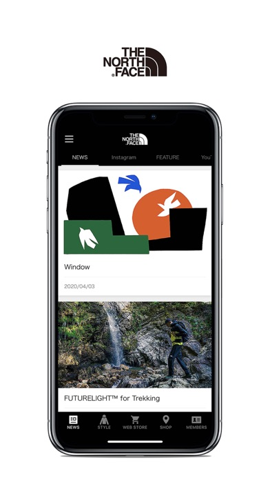 THE NORTH FACE JAPAN APPのおすすめ画像2