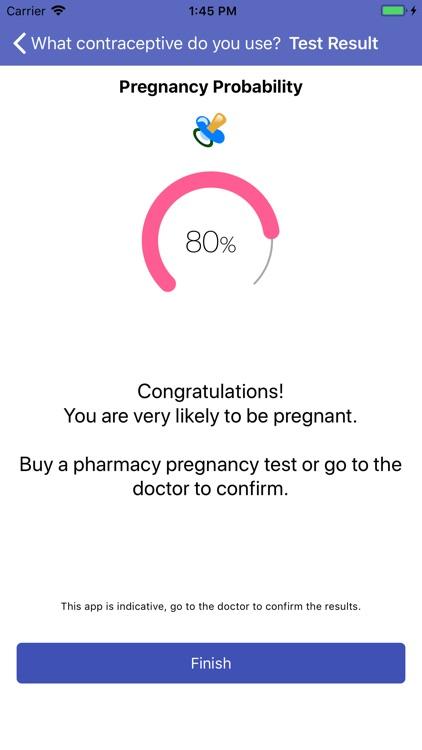 Pregnancy Test - Symptoms screenshot-4