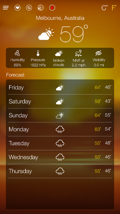 World Weather Forecastのおすすめ画像3
