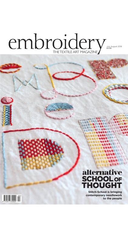 Embroidery Magazine. screenshot-4