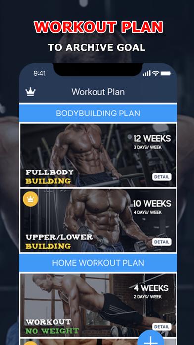 Fitness Coach: Workout Tracker Screenshots
