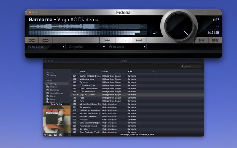 音频播放器 Fidelia    for Mac
