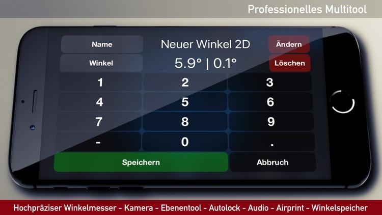 iLevel - Protractor & Level screenshot-3