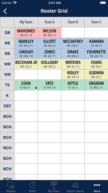 Fantasy Football Cheatsheet screenshot-5