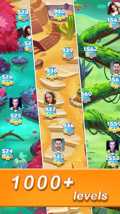 Jewels & Gems - Match 3 Games screenshot-3