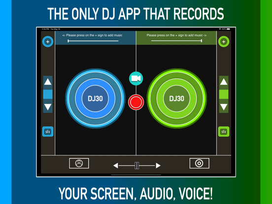 DJ Record Screen Music & Voice Screenshots