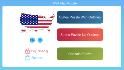 USA Map Puzzle Game   App Price Drops