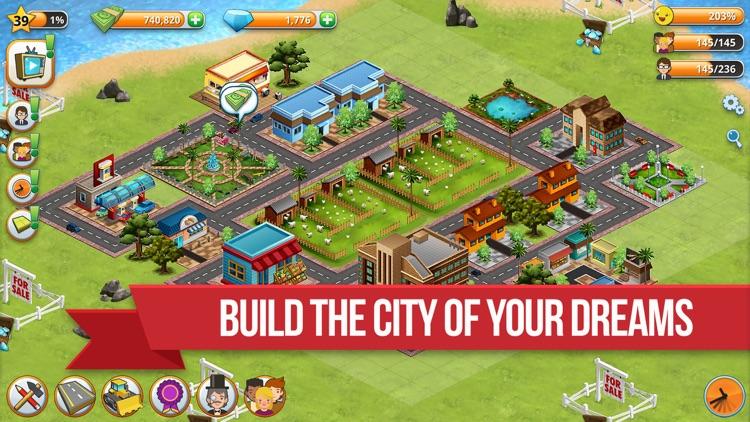 Village City Island Simulation