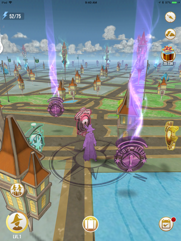 Harry Potter: Wizards Unite iPad app afbeelding 3