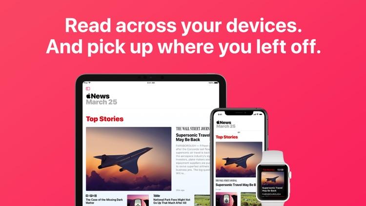 Apple News screenshot-3