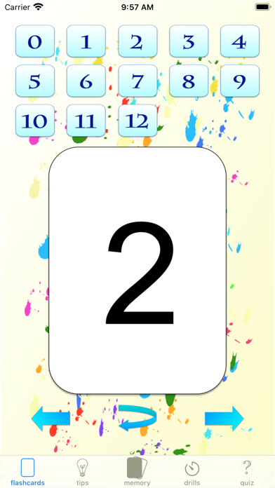 multiplication drills: X screenshot 4