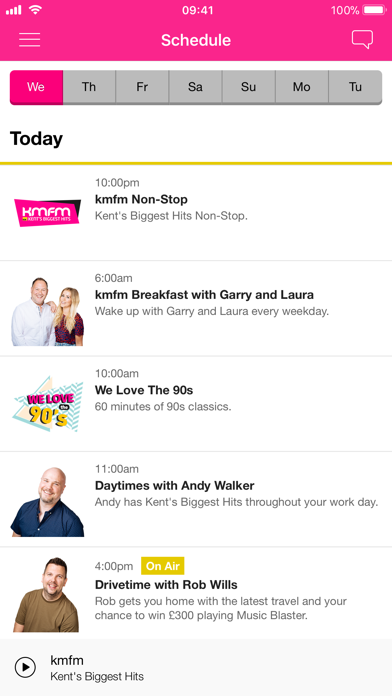 kmfm screenshot three