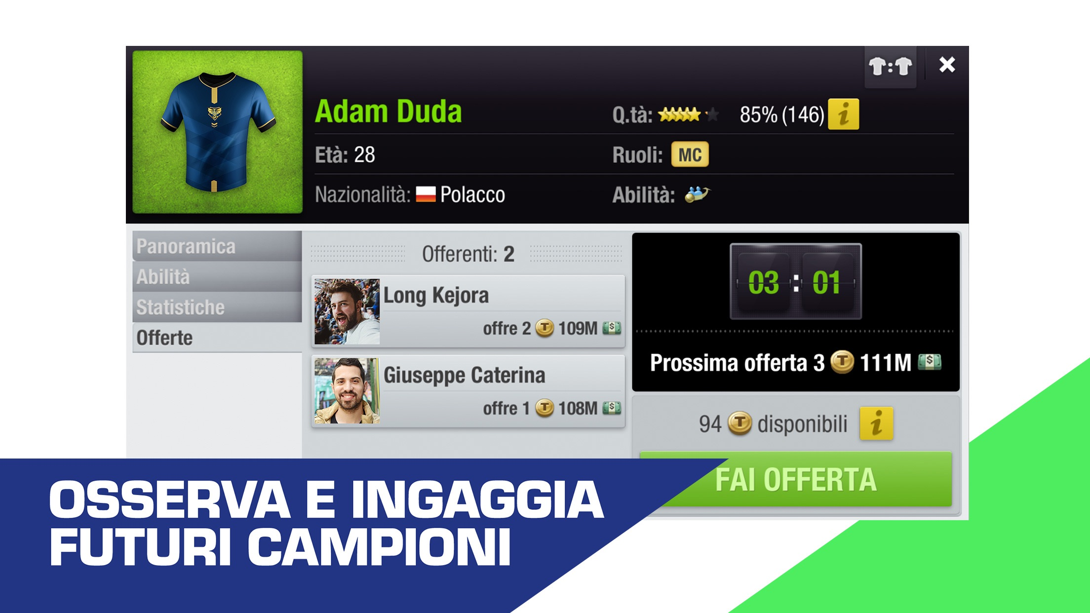 Top Eleven - Manager di Calcio Screenshot
