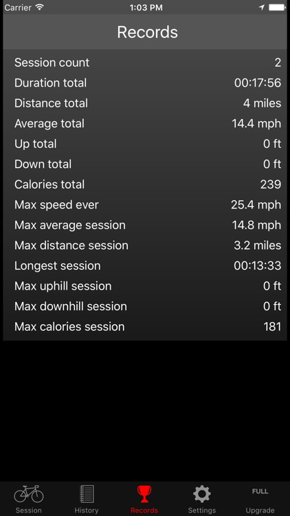 Fitmeter Bike Basic - Cycling screenshot-3