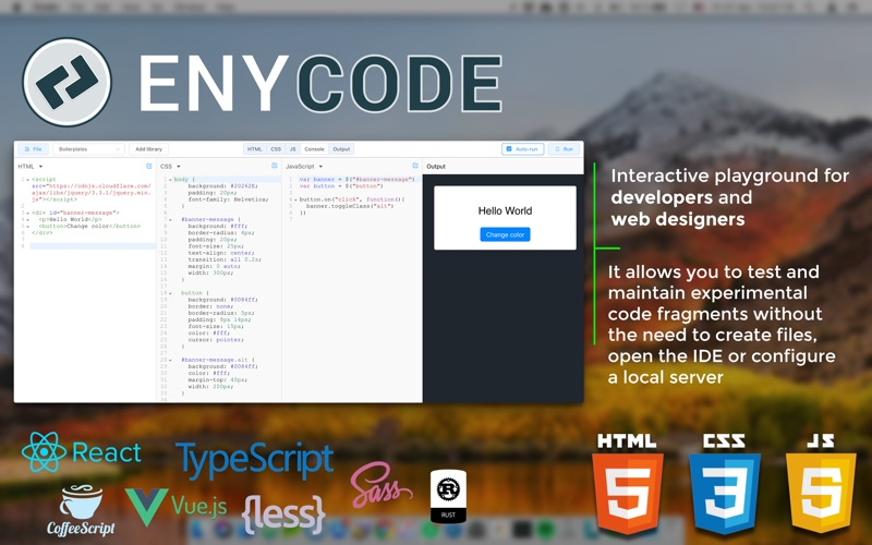 EnyCode: HTML5 CSS3 JavaScript | App Price Drops