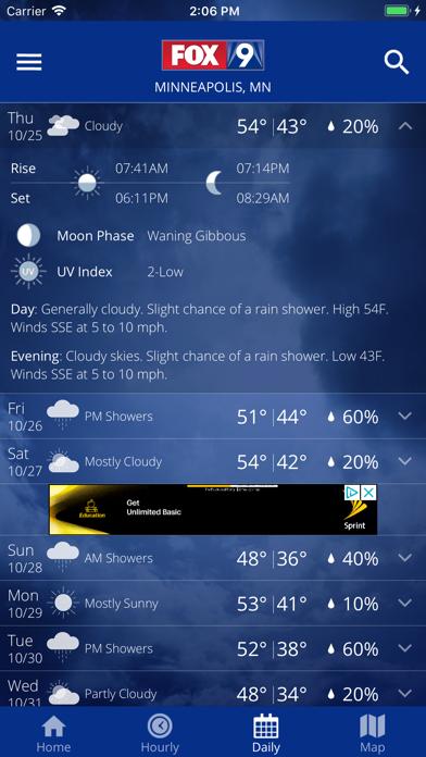 FOX 9 Weather – Radar & Alertsのおすすめ画像4