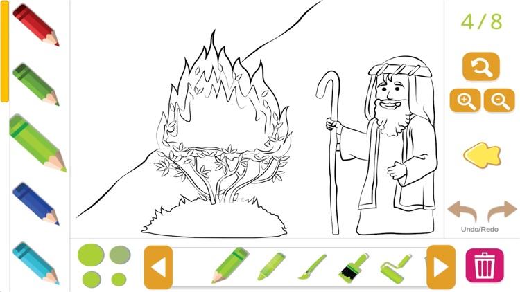 Bible Coloring for Kids screenshot-5