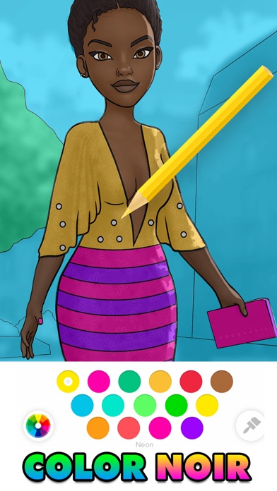 Color Noir: Coloring Art Games wiki review and how to guide
