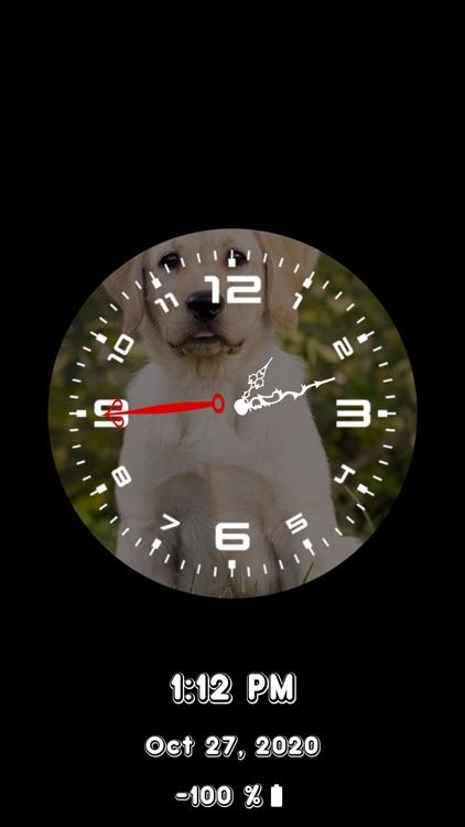 Analog Clock - Stand Face Time screenshot-4