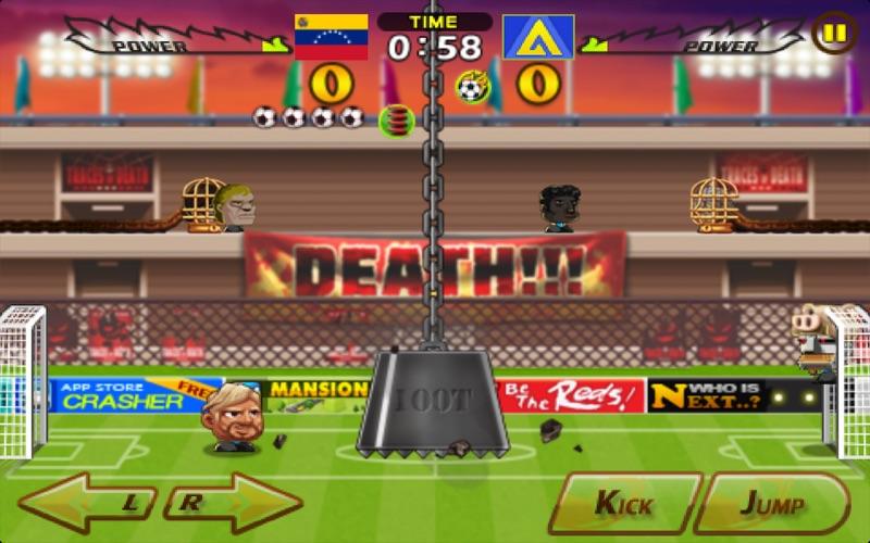 headsoccer Screenshot