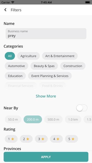 Screenshot for Preybiz in Ukraine App Store