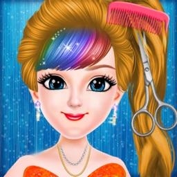 Cute Girl Super Hair Salon
