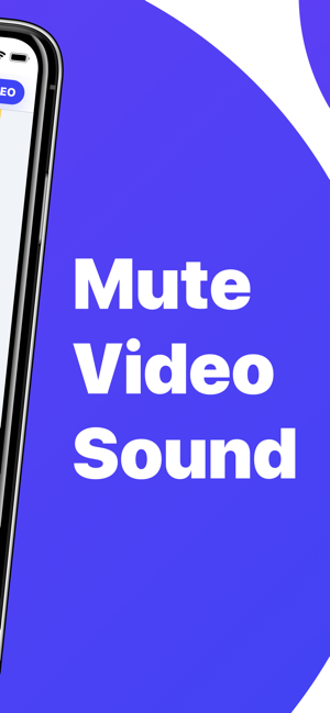 ‎Video Mute - Edit Clip Sound Capture d'écran