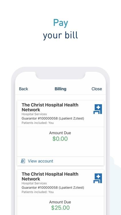 Christ Hospital Health Network screenshot-5
