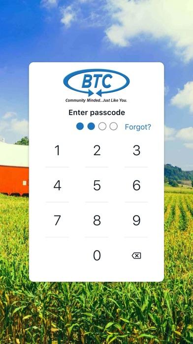 BTC Mobile BankingScreenshot of 1