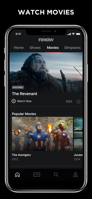 Fxnow Movies Shows Live Tv 12