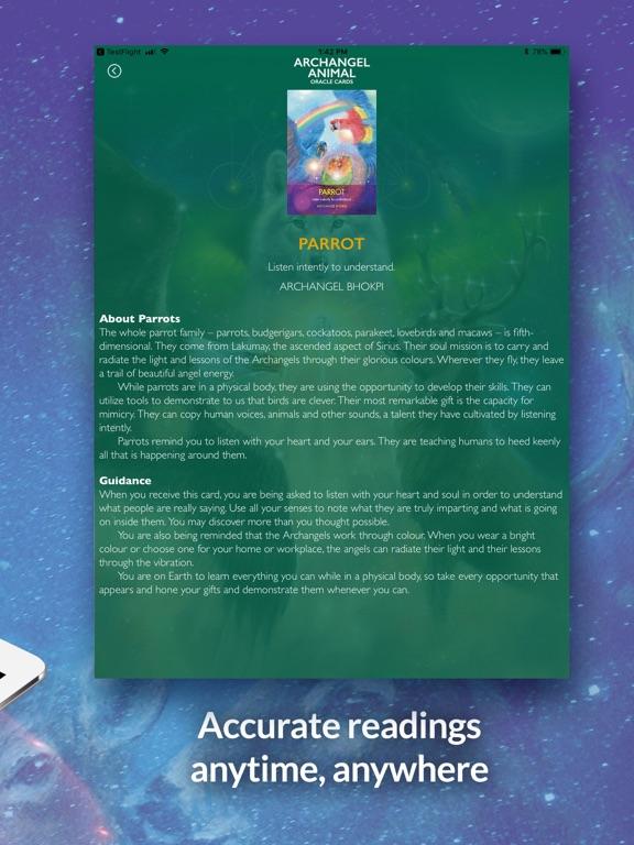 Archangel Animal Oracle Cards screenshot 10