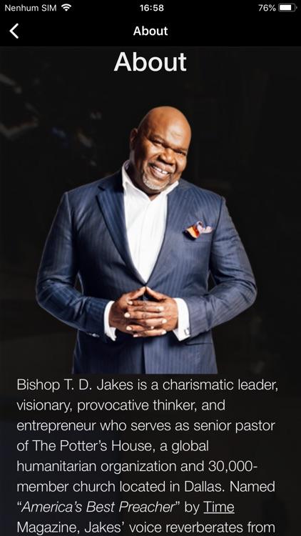 T.D. Jakes Ministries screenshot-8
