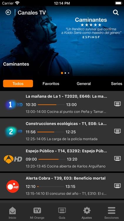 Orange TV screenshot-3
